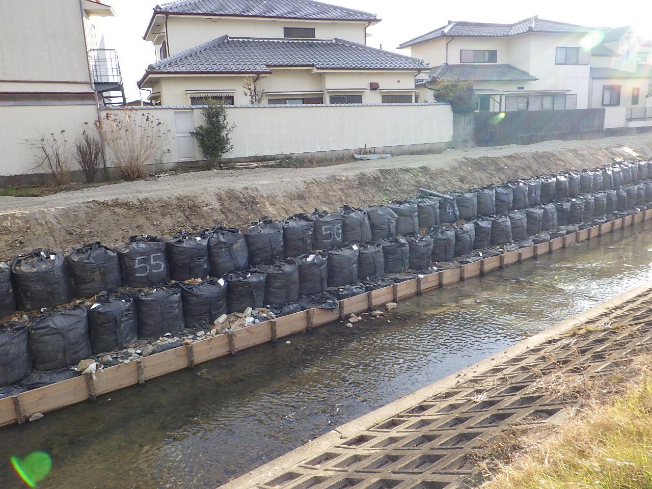 地蔵院川 護岸復旧工事
